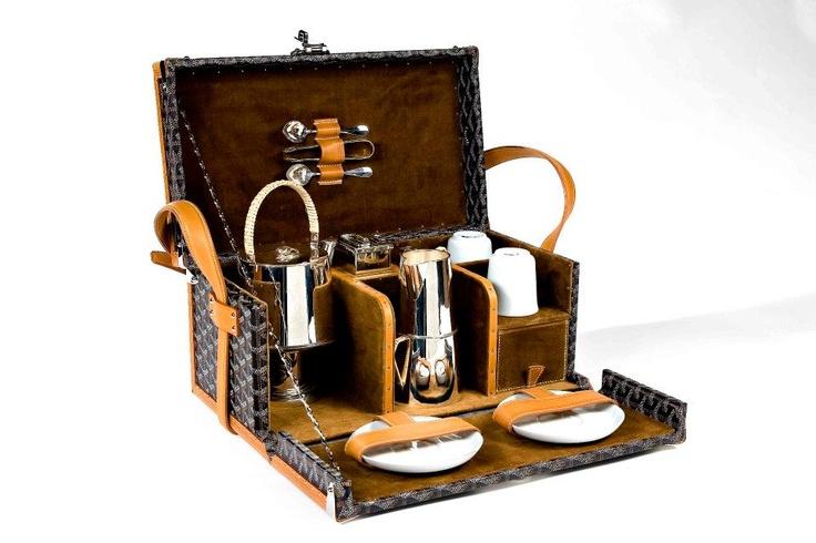 Nécessaire à thé Goyard Tea Case