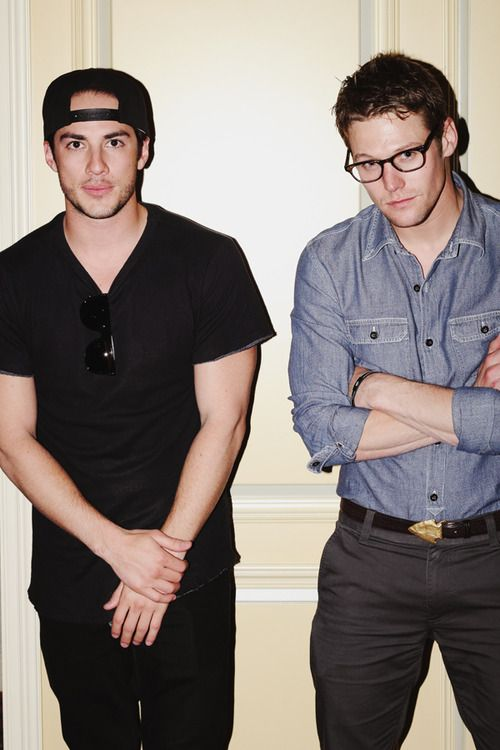 Michael Trevino and Zach Roerig for Girlfriend Magazine