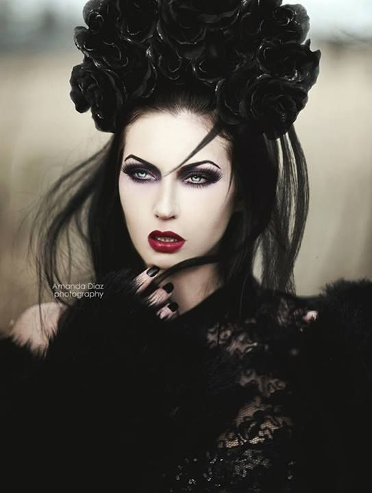 Stuff to do, more of an idea....Dark but lovely, I don't know about you, but whenever I see a great 'goth' pose, I always wonder what they look like without the make up, I wish that there was a before and after set of photos, that would be interesting....
