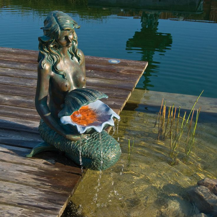 Best 50+ Fontaines de jardin images on Pinterest | Garden fountains ...