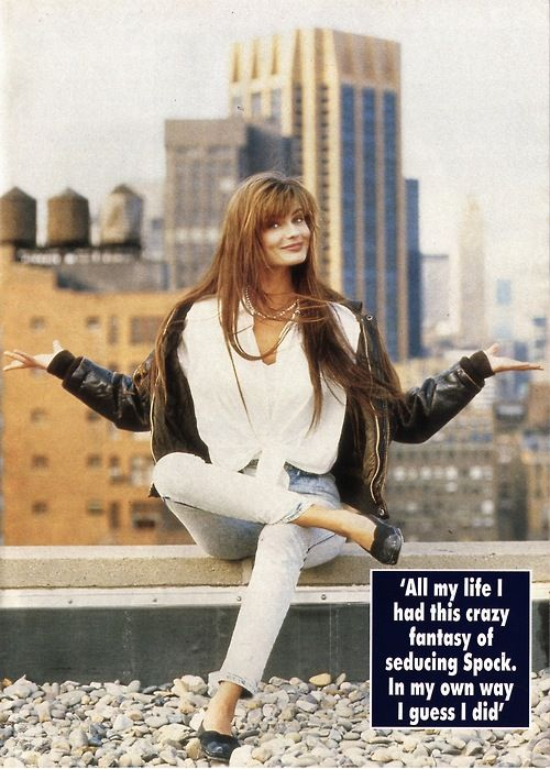 Hello UK, March 1989  Photographer : Peter Serling  Model : Paulina Porizkova
