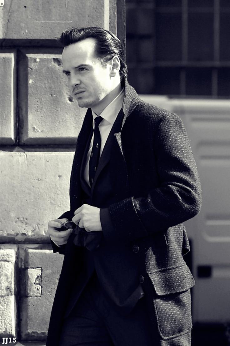 Moriarty. Andrew Scott. The man never looks bad. Sherlock.
