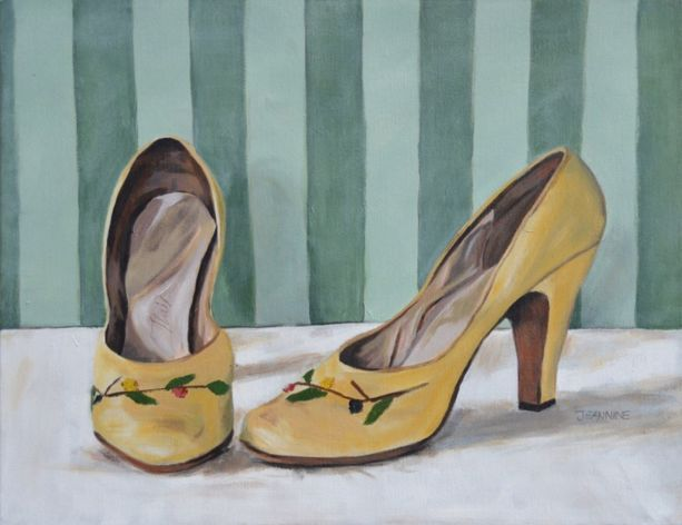 Sunday Shoes (45 x 35cm)   CHF 150.-