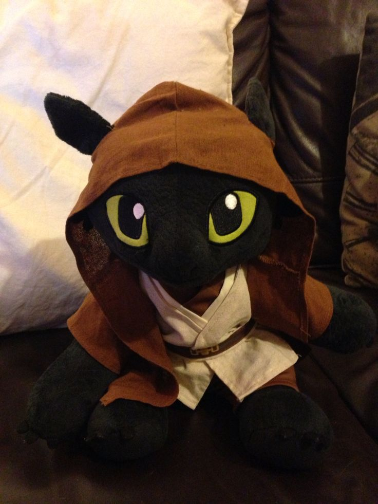 Build a bear Toothless How to train your dragon  Jedi Star Wars