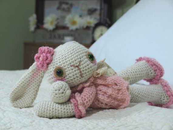 Giselle: Free Dolls Sewing Patterns, Crochet Projects, Crochet Toys, Crochet Amigurumi Bunnies, Crochet Critter, Crochet Bunnies, Crochet Patterns, Crochet Knits, Patterns Patterns