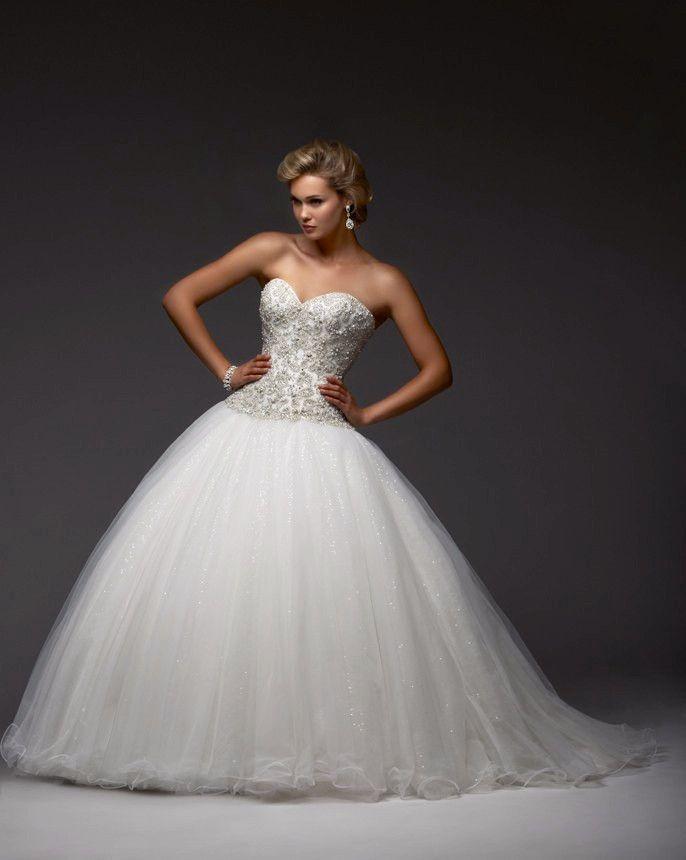 Item Type: Wedding Dresses Waistline: Princess is_customized: Yes Dresses Length: Floor-Length Silhouette: Ball Gown Neckline: Sweetheart Sleeve Length: Sleeveless Wedding Dress Fabric: Tulle For Preg