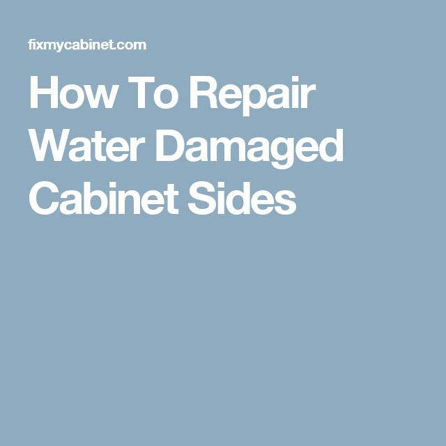 Humor Inspirational Quotes: Best 25+ Water Damage Ideas On Pinterest