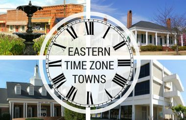 At some unknown point in history, four Alabama cities unofficially agreed to use the Eastern Time Zone.