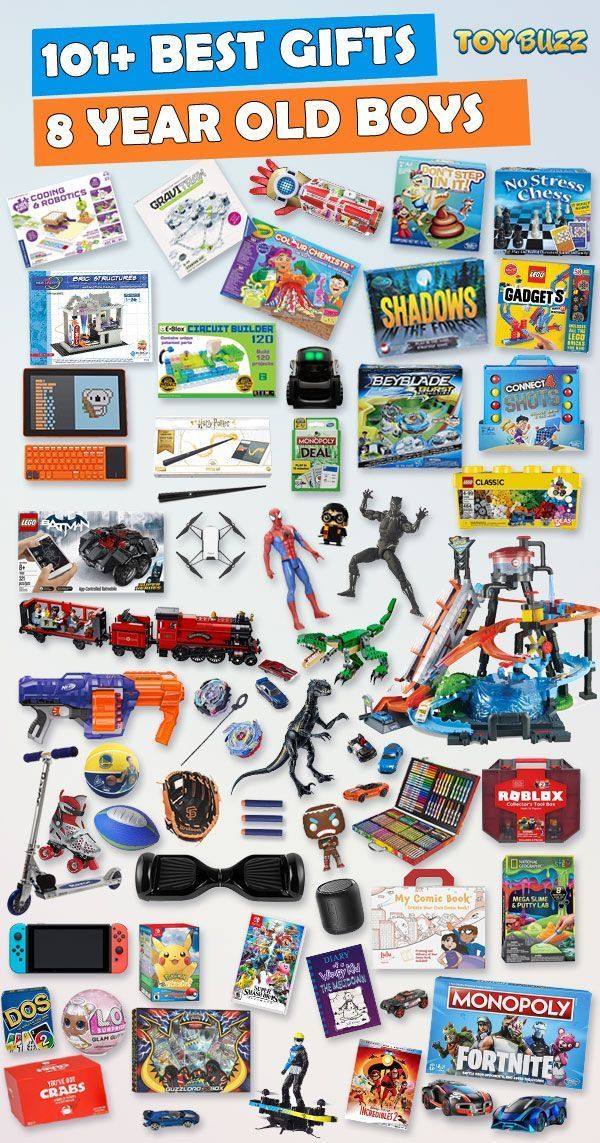 Gifts For 8 Year Old Boys Best Toys For 2020 Birthday Gifts For Teens Birthday Gifts For Boys Christmas Gifts For Boys