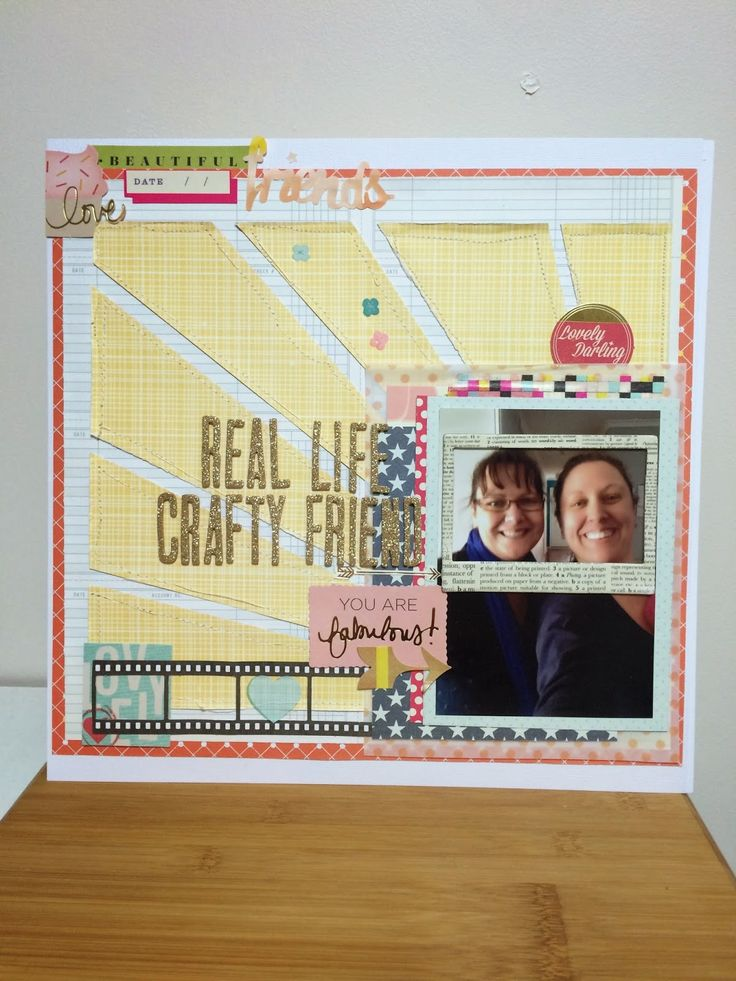 Scrappy Canary: Real Life Crafty Friend - Linda Trace