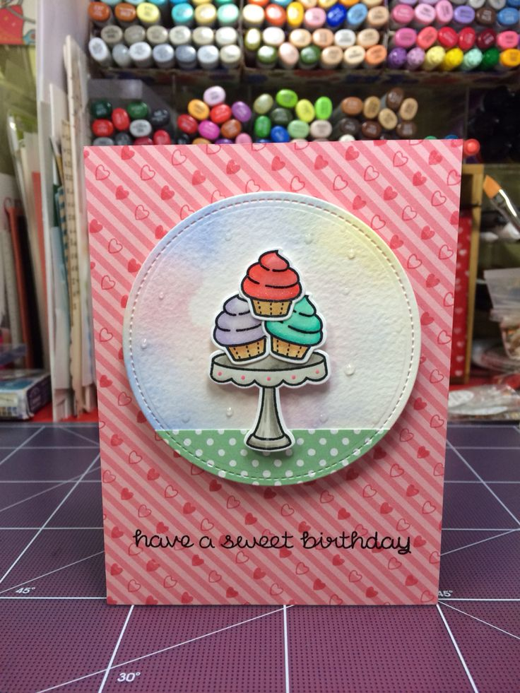 Using Lawn Fawn's stamp set!