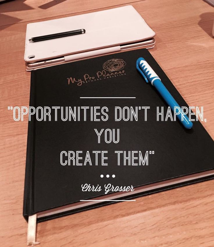 You have the power to create amazing opportunities