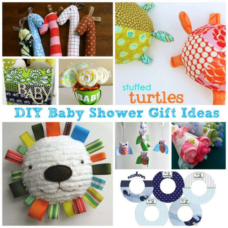 Baby Shower Gift Ideas Practical : Great diy baby shower gift ideas