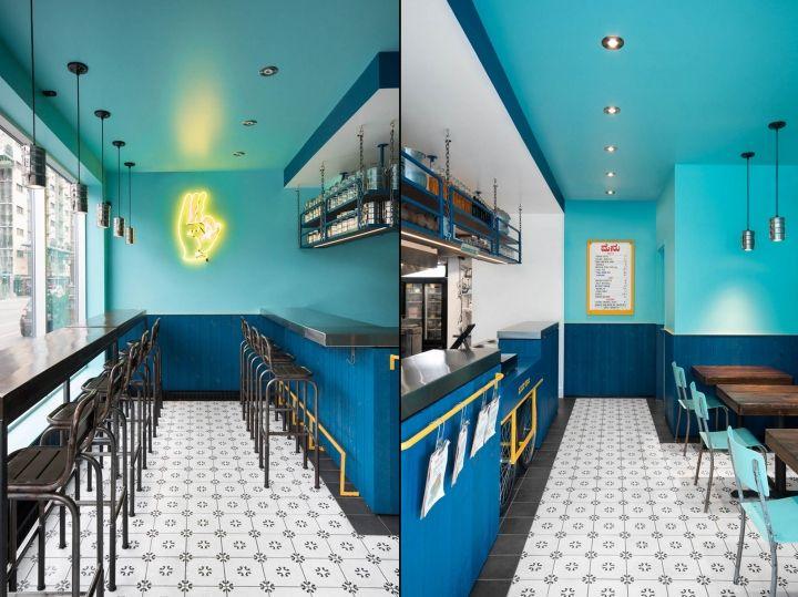 Le Super Qualit Restaurant By David Dworkind Montreal Canada Retail Design Blog