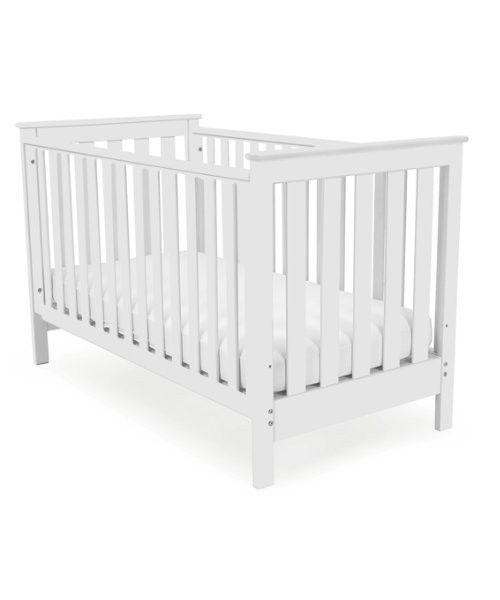 Mothercare cuna cama jamestown blanca cunas y mois s for Cama y cuna