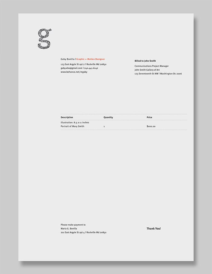 The 25+ best Invoice layout ideas on Pinterest Creative cv - use of an invoice