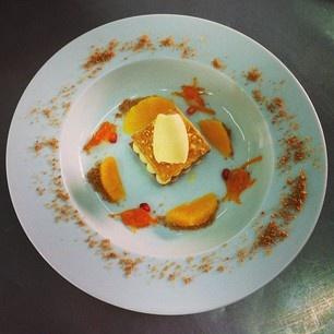 Milhojas de naranja con sopa de cítricos 25.01.13