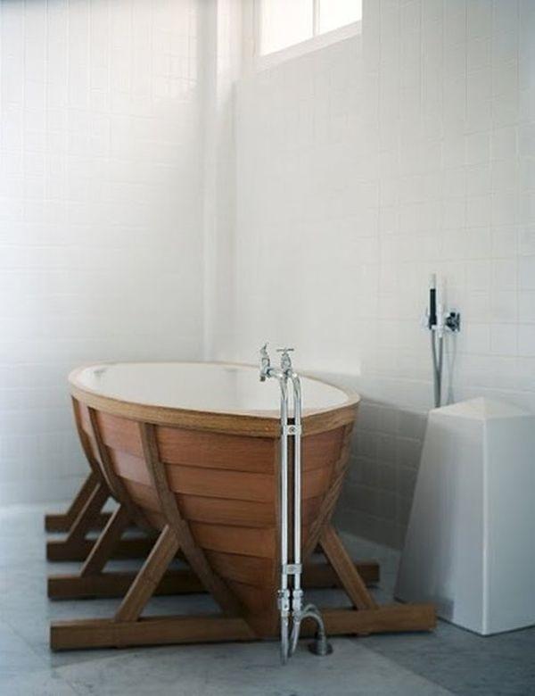 Ruhige Farben inspiriert durch das Meer – 11 Badezimmer Designs