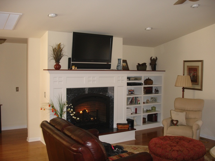 Small Living Room Ideas With Fireplace Built Ins