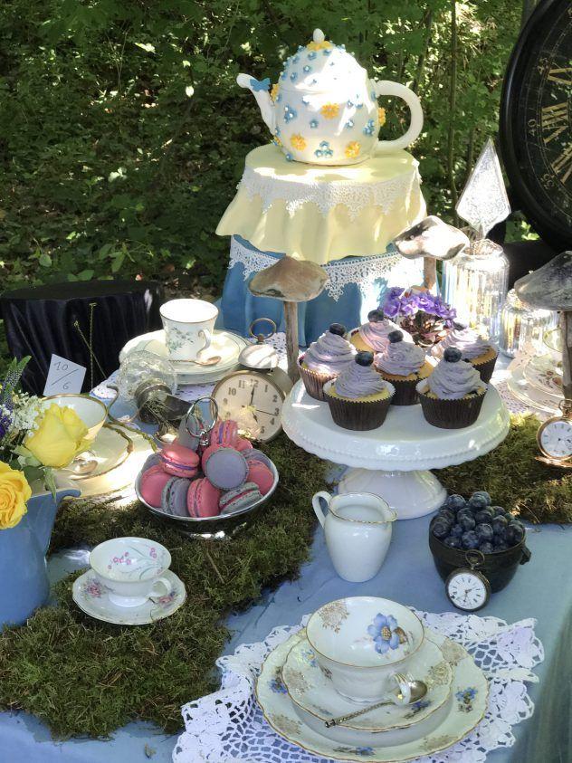 34 besten alice im wunderland das bloggerboard zum event food deko living bilder auf - Alice im wunderland deko ...
