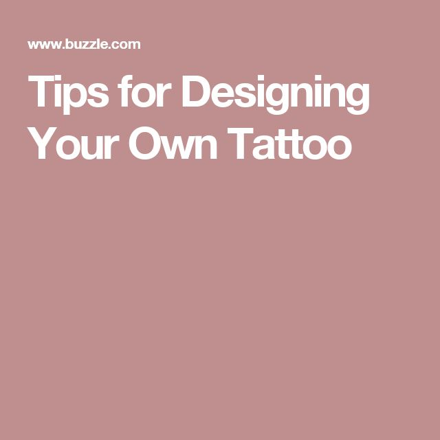 best 25 design your own tattoo ideas on pinterest make your own tattoo name symbols and. Black Bedroom Furniture Sets. Home Design Ideas