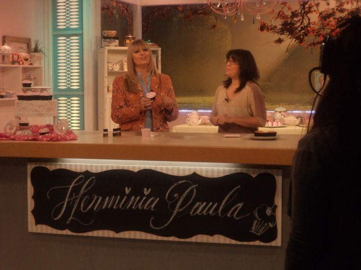 Junto a Herminia Devoto!!
