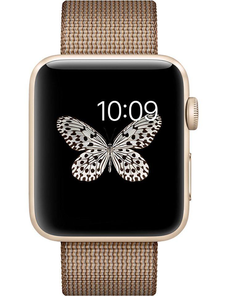 APPLE - Series 2 gold aluminium 42mm apple watch #UKGiftGuide2017