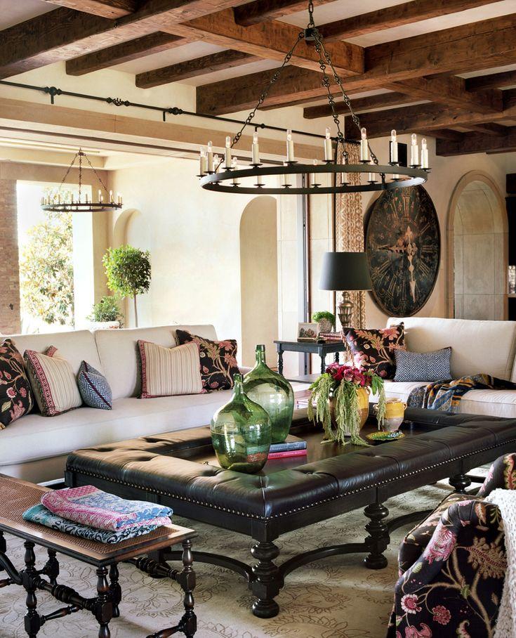 amazing spanish style living room design | Pin by Design Connection, Inc. Kansas City Interior Design ...