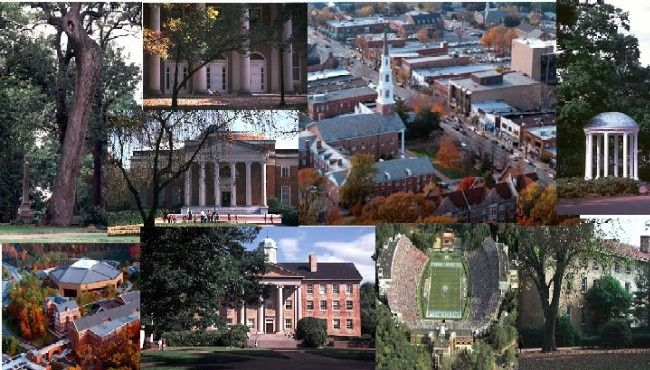 University of North Carolina at Chapel Hill - My heart skips a beat at the thought!! So many memories!