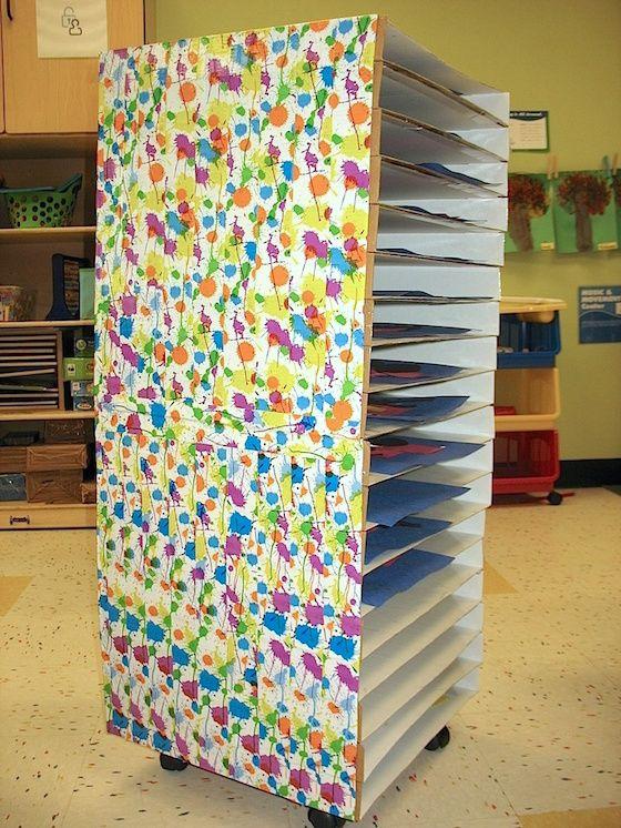 Classroom Storage Ideas Uk ~ Why every art classroom needs a shopping cart studio