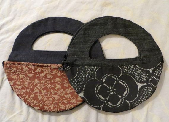 kisskiss Hand Bag with changeable pocket by maayanhus on Etsy