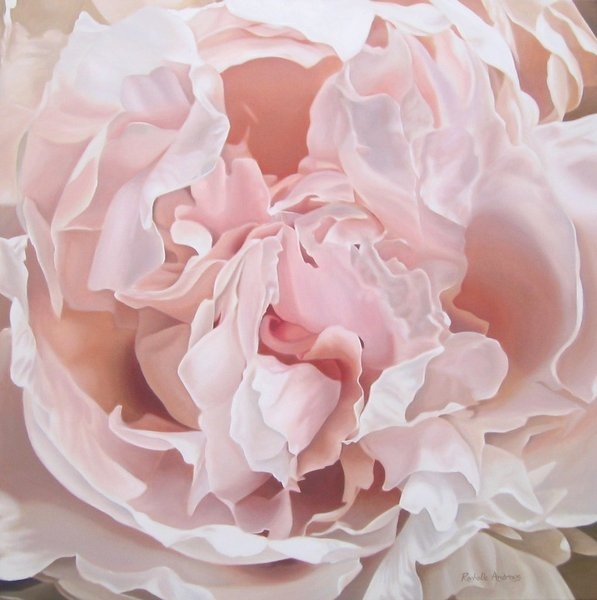 8 best new zealand artist rochelle andrews images on pinterest art antique pink peony by artist rochelle andrews one day i will commission her malvernweather Choice Image