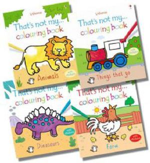 Usborne That's Not My...Colouring #Books Collection Set. Product Condition : New  MPN : 9781409525103. Shop now at: Foblit.com