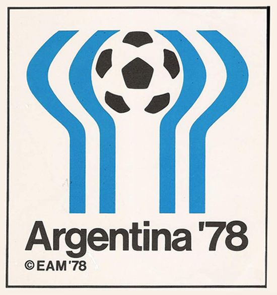 Argentina Football World Cup Logo 1978  #logo #1970s #worldcup