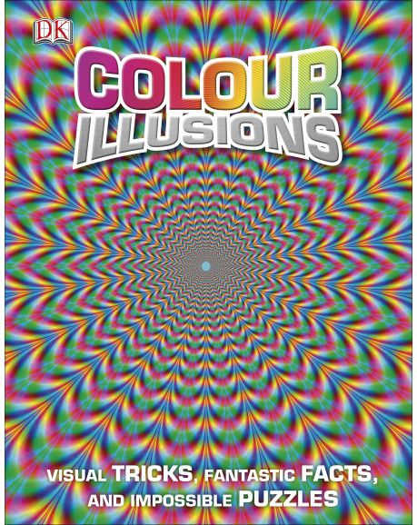 Everything is not what it seems in Colour Illusions. a multi-use decoder with inbuilt 3D glasses means you can see colour changing and distorting before your very eyes!