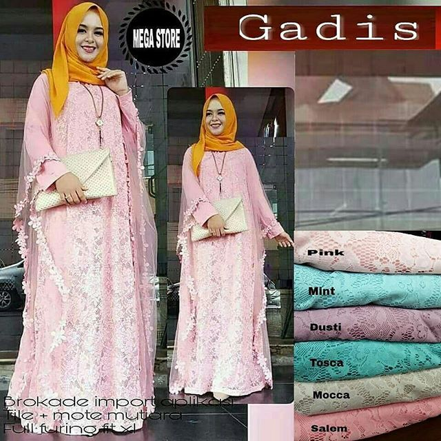 Gadis Dress  Matt :  Bruklat Import Aplikasi   Tile + Mote Mutiara   Full Furing   Fit XL  High Quality  Harga : 220.000    #khimarmurah #maximurah #gamis #gamismurah #syari #muslim #muslimahfashion #jilbabgrosir #jilbab #ootd #hijab #trend #like4like #l #hijabmurah #jeans #kulot
