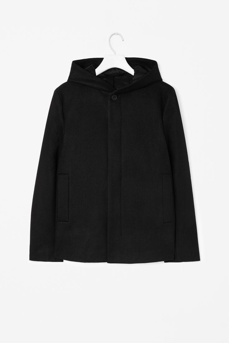 Clean wool coat