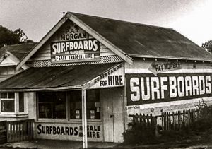Old butcher's shop converted to make surfboards.