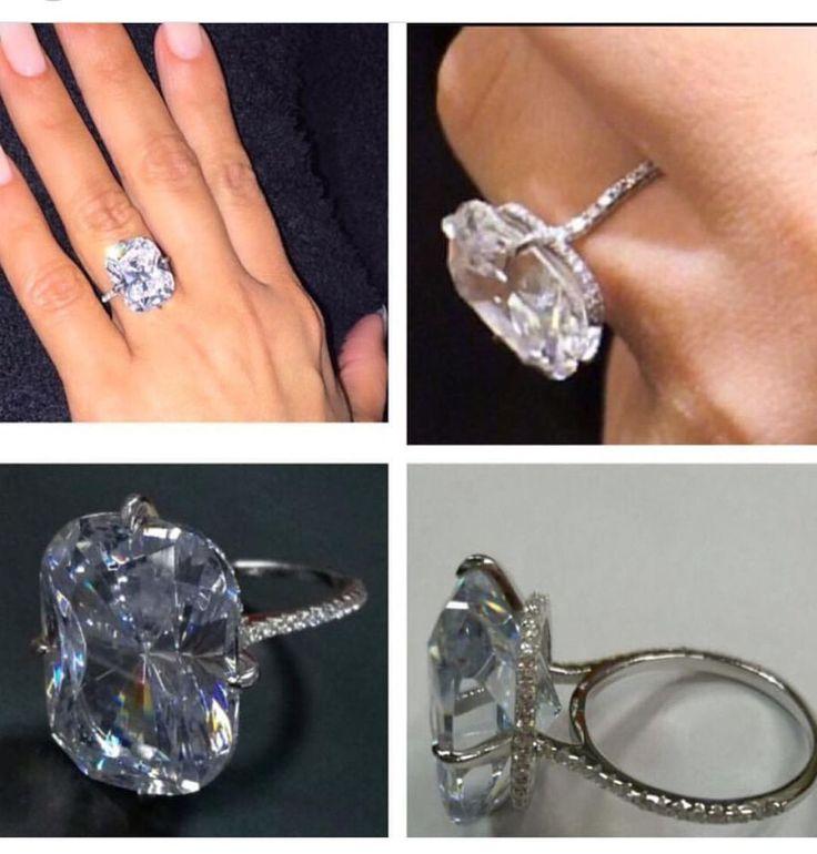 Kim Kardashian Replica Cz Engagement Ring