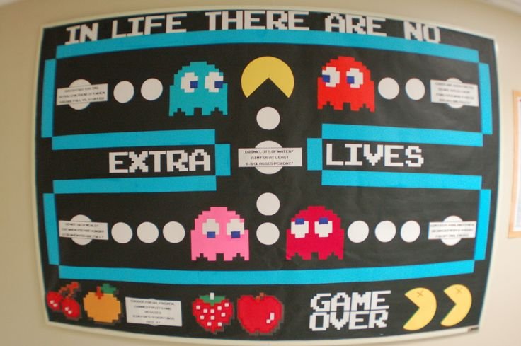 Pac Man Board... Thinking this may have to happen. [Found via thebowtierambler on Tumblr.]