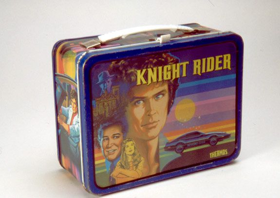 Knight Rider lunch box: Lunch Boxes, Knights, Lunches, Knight Rider, Rider Lunchbox