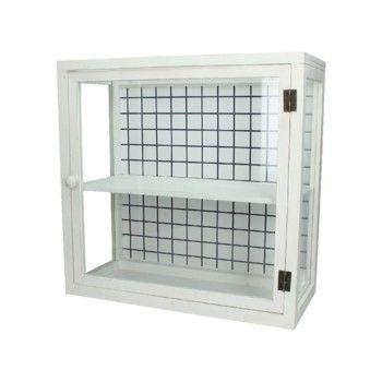 Presklená skrinka Cabinet, 45x20x44,5 cm | Bonami