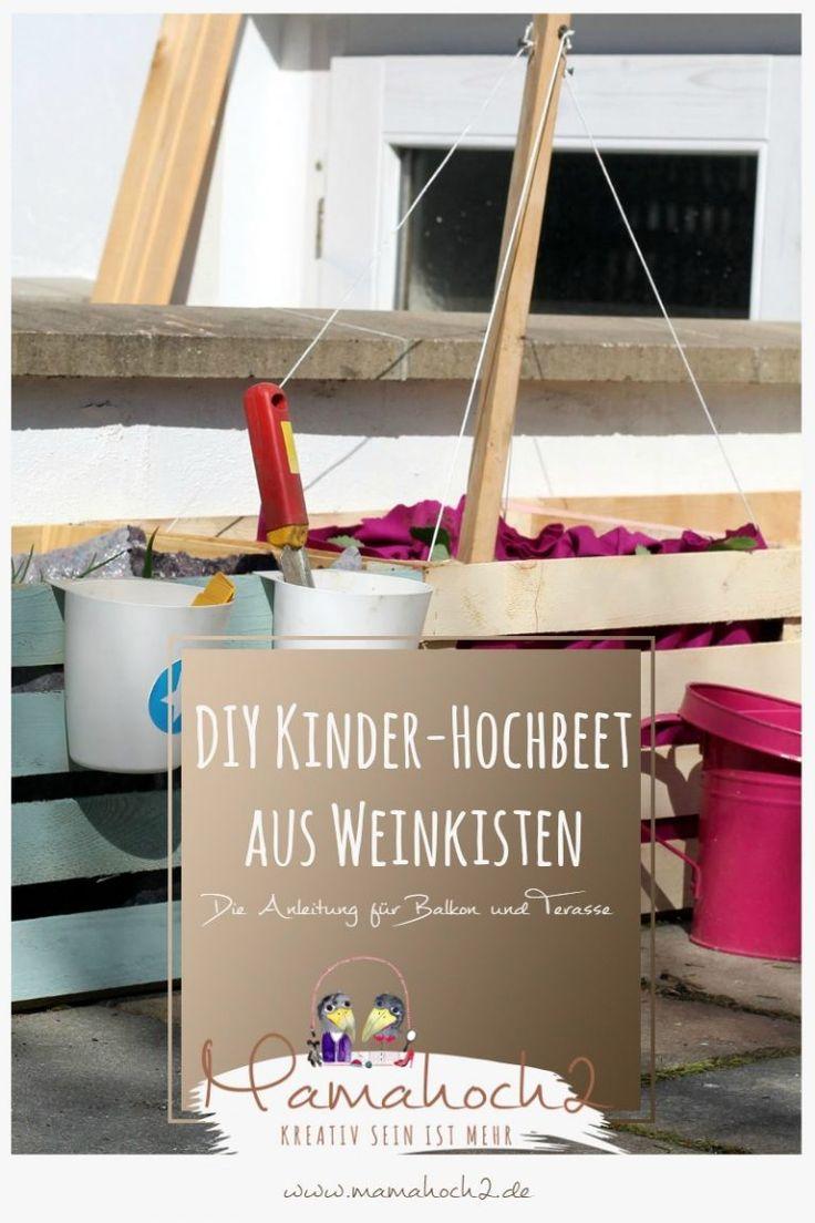 zum Nachmachen: ein DIY Hochbeet für Kinder - in 5 Minuten ...