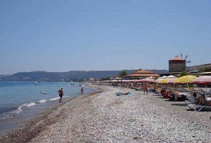 Ialyssos Beach Ialyssos Rhodes Greece