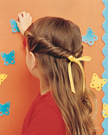 something to do with Brookie's wild hair!