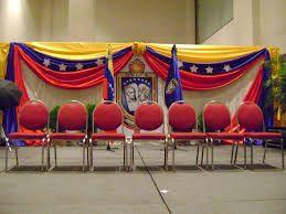 Resultado de imagen para decoraciones con la bandera de venezuela para actos
