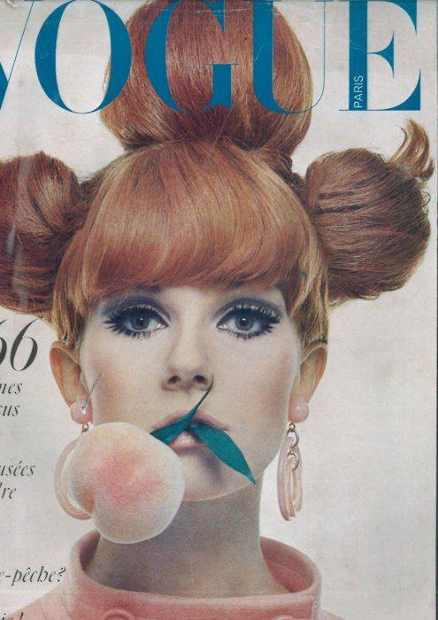 Nicole de la Marge for Paris Vogue, 1966. Photo by Guy Bourdin.