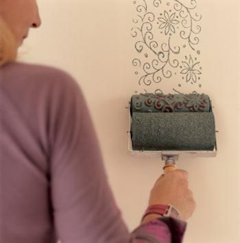 Pattern Paint Roller 56 best patterned roller painting images on pinterest | patterned