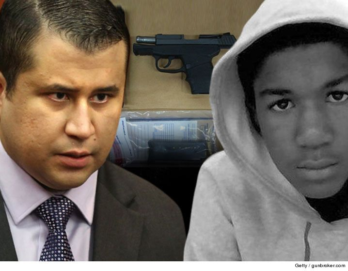 George Zimmerman Gun Auction Pulled But Not By Trayvon's Family