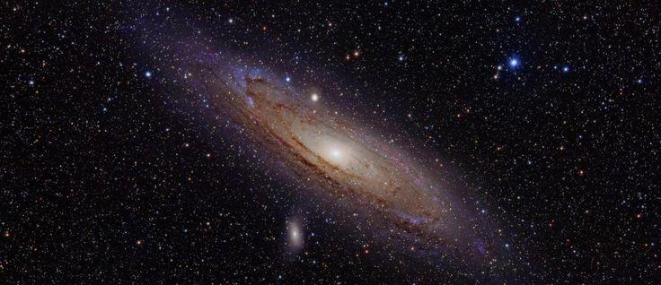 Andromeda zichtbaar op de grootste foto ooit. Gemaakt door de Hubble-ruimtetelescoop: met 411 beelden, 1,5 miljard pixels en 4,3 gigabite geeft NASA een prachtige 'close-up' van dit sterrenbeeld.